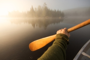 canoe paddle