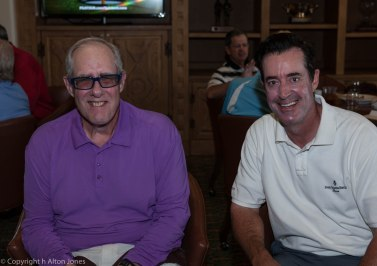 Frank Bogacz - low net champ with Brad Sinclair - low gross champ.